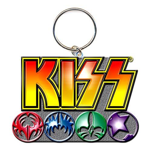 KISS Keychain: Logo & Icons
