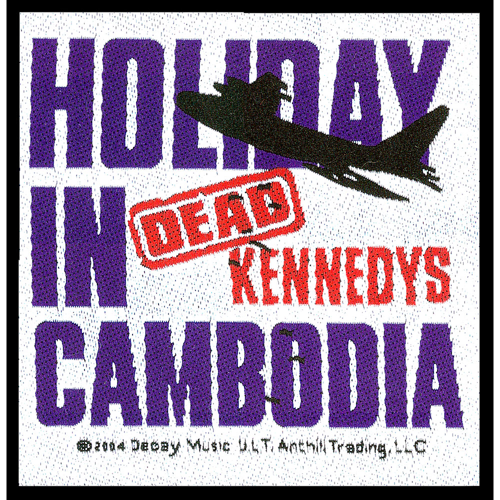 In dead kennedys holiday in cambodia t shirt and