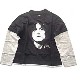 T-Rex Kids Raglan Tee: Marc Bolan (Available in age 3 - 4 only)