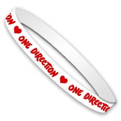 One Direction Gummy Wristband: Phase 3