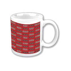 One Direction Boxed Standard Mug: Tiled Names