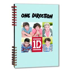 One Direction Notebook: 5 Head Shots