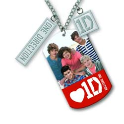 One Direction Necklace: 5 Head Shots
