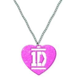 One Direction Necklace: Pink Heart