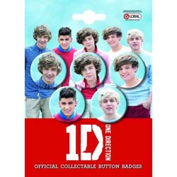 One Direction Button Badge Pack: One Direction
