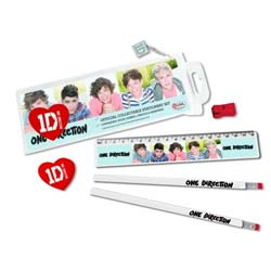 One Direction Stationery Set: 5 Head Shots