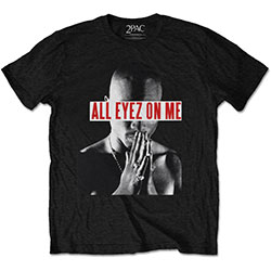 Tupac Men's Tee: Tee: Eyez On Me