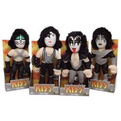 KISS Plush Collection: Love Gun Band