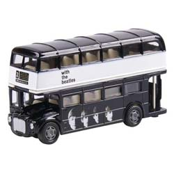 The Beatles Die-Cast Model: With the Beatles (Routemaster Bus)