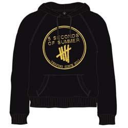 5 Seconds of Summer Men's Pullover Hoodie: Derping Stamp
