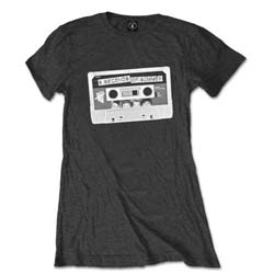 5 Seconds of Summer Ladies Tee: Tape with Skinny Fitting