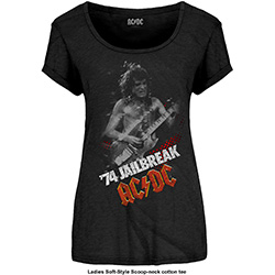 AC/DC Ladies Fashion Tee: Jailbreak