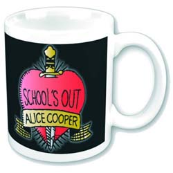 Alice Cooper Boxed Standard Mug: School's Out