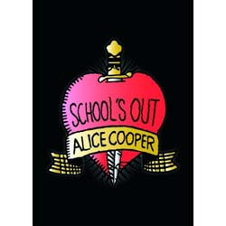 Alice Cooper Postcard: School's Out (Standard)