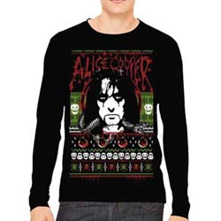 Alice Cooper Men's Sweatshirt: Holiday