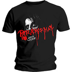 Alice Cooper Men's Tee: Paranormal Eyes