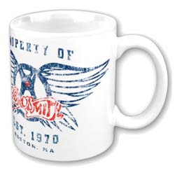Aerosmith Boxed Standard Mug: Property of Logo