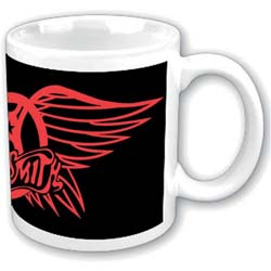 Aerosmith Boxed Standard Mug: Red Wings Logo