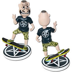 Anthrax Bobble Head: Not Man