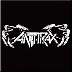 Anthrax Fridge Magnet: Death Hands