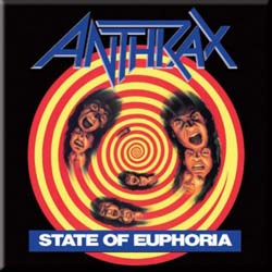 Anthrax Fridge Magnet: State of Euphoria