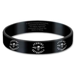Avenged Sevenfold Gummy Wristband: Death Bat