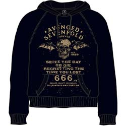 Avenged Sevenfold Men's Pullover Hoodie: Seize the Day