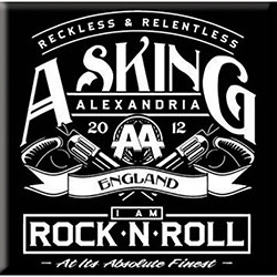 Asking Alexandria Fridge Magnet: Rock n' Roll