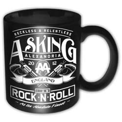 Asking Alexandria Boxed Standard Mug: Rock n' Roll