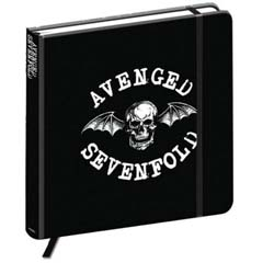 Avenged Sevenfold Notebook: Death Bat Crest