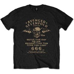 Avenged Sevenfold Men's Tee: Seize the Day