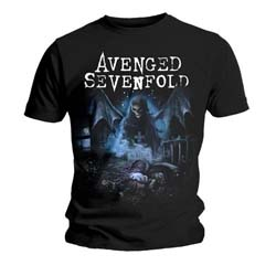 Avenged Sevenfold Men's Tee: Recurring Nightmare