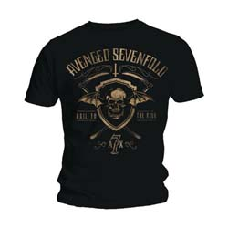 Avenged Sevenfold Men's Tee: Shield & Sickle