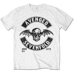 Avenged Sevenfold Men's Tee: Moto Seal