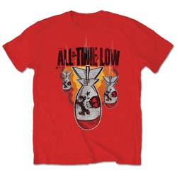 All Time Low Men's Tee: Da Bomb