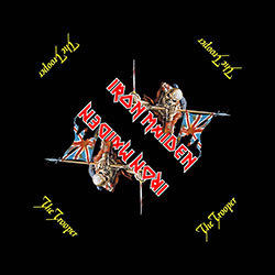 Iron Maiden Men's Bandanna: The Trooper