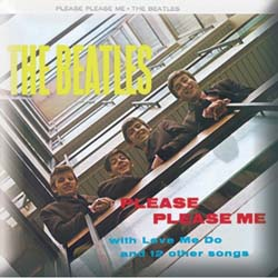 The Beatles Pin Badge: Please, Please Me