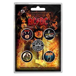 AC/DC Button Badge Pack: Highway to Hell