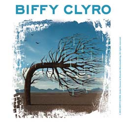 Biffy Clyro Single Cork Coaster: Opposites