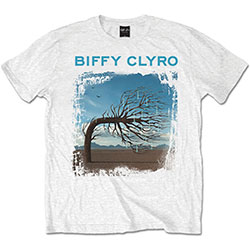 Biffy Clyro Men's Tee: Opposites White