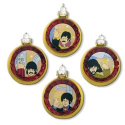 The Beatles Single Bauble: Yellow Submarine
