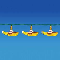 The Beatles Lighting Set: Yellow Submarine