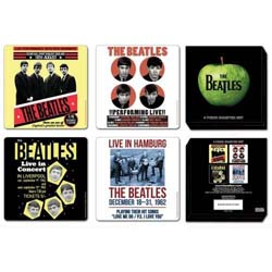 The Beatles Coaster Set: 1962 Anniversary