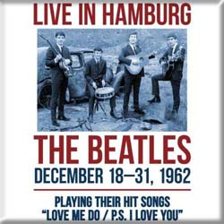 The Beatles Fridge Magnet: Hamburg