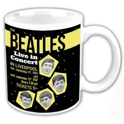 The Beatles Boxed Standard Mug: Live in Concert 1962