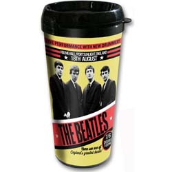 The Beatles Travel Mug: 1962 Port Sunlight with Plastic Body