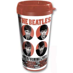 The Beatles Travel Mug: 1962 Performing Live with Plastic Body