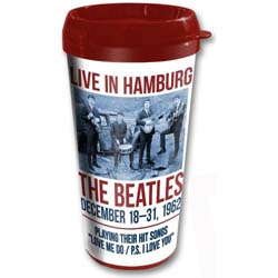 The Beatles Travel Mug: 1962 Hamburg with Plastic Body