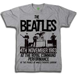 The Beatles Men's Premium Tee: Prince of Wales Theatre