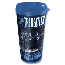 The Beatles Travel Mug: Palladium with Plastic Body